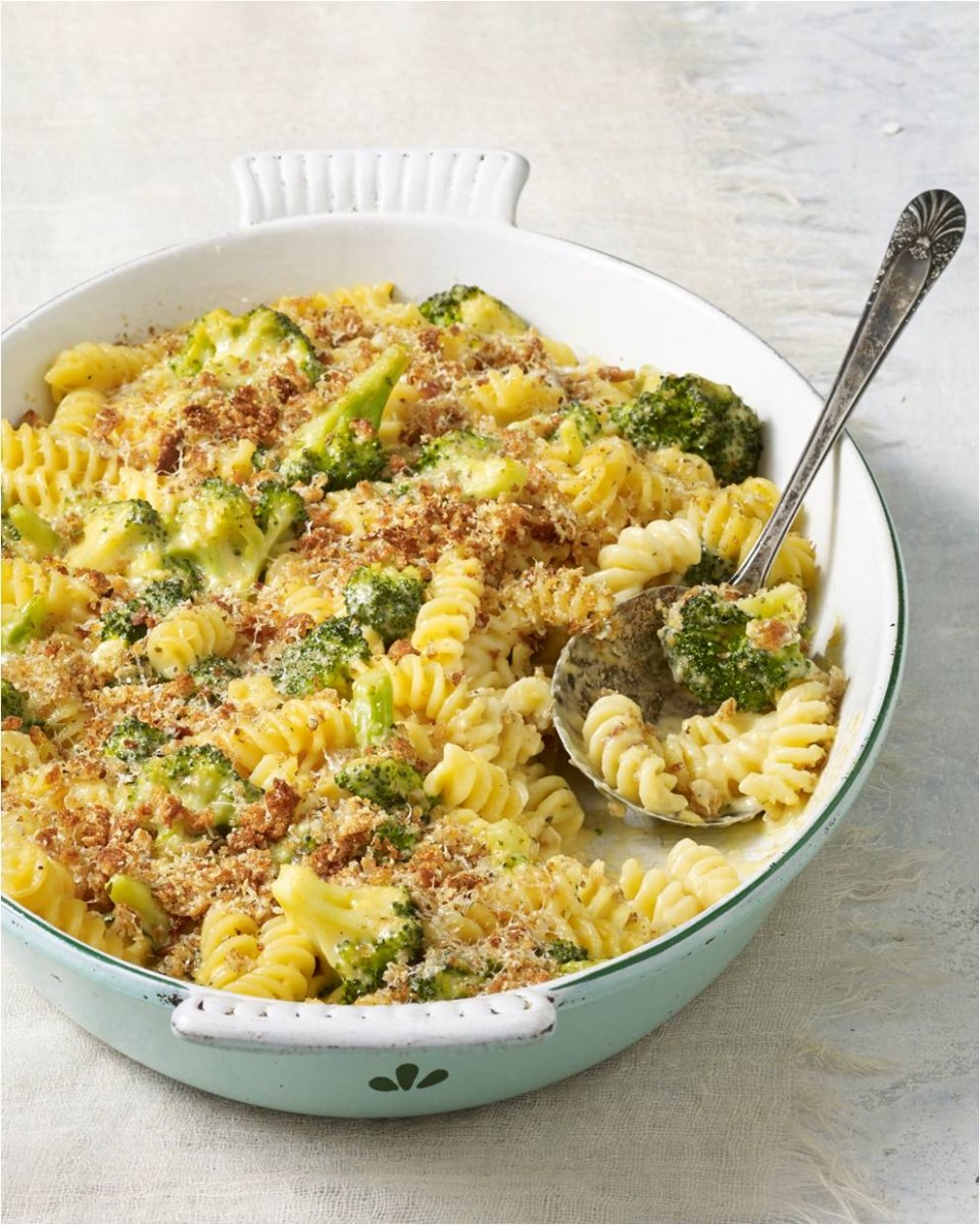 Skinny Baked Broccoli Mac and Cheese Recipe - M Factor Fitness ...